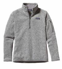 Patagonia Womens Better Sweater 1/4 Zip Birch White Size S