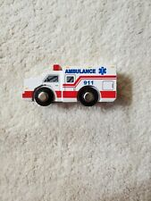 Wood And Wheels Wooden Vehicles Ambulance
