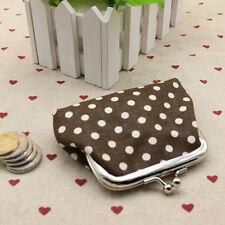 Womens Change Coin Purse Small Clutch Wallet Key Card Holder Mini Pouch Handbag