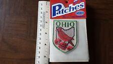 Ohio Cardinal Travel Souvenir Patch - Brand New - Free Shipping!
