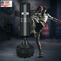 Free Standing Punch Bag Boxing Bag Heavy Duty Sports Kick Bag MMA With Stand US