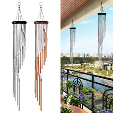 Large Tone Metal Wood Wind Chimes Copper Bells Outdoor Yard Garden Home Decor