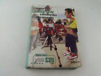 Sony Digital Handycam DCR-IP45, DCR-IP55 Camcorder Instruction Manual Book