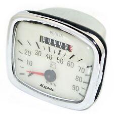 Vespa Vegelia Piaggio Logo 90 Kph White Face Speedometer Speedo 125 VNB VNA