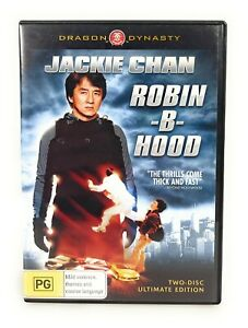 Robin-B-Hood (DVD, 2006) 2 Disc Edition Jackie Chan Region 4 Free Postage