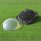 Black Outdoor Solar Dome Inground & Above Ground Swimming Pool Water Heater NEW