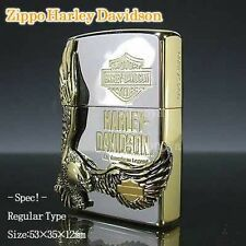 ZIPPO / HARLEY- DAVIDSON Cigarette Oil Lighter....... LIMITED EDITION HDP-17