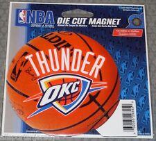 NBA NIB 4 INCH AUTO MAGNET - OKLAHOMA CITY THUNDER