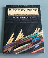 Vintage Piece by Piece The Complete Book of Quiltmaking - Dianne Finnegan HC/DJ