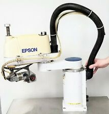 Seiko Epson Es451s Robot Manipulator Arm 4 Axis Not Tested See Video B6fl