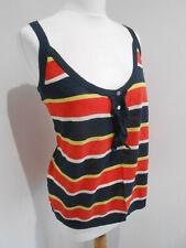 BNNT Marks & Spencer Limited Collection striped knit vest top 18 NEW