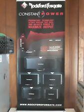 Rare Rockford Fosgate Car Audio Banner *Dealer Banner *Constant Power* 7Ft x 3Ft