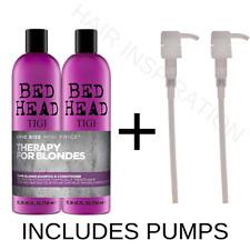 Tigi BED HEAD Champú rubia tonta & Acondicionador Duo 750ML + Bombas