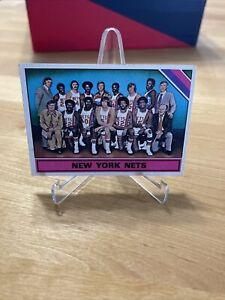 New York Nets ABA Team card 1975 Topps Basketball  #325 Dr. J Julius Erving 🔥