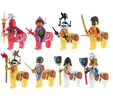 8 Pcs Minifigures lego MOC Medieval Sagittarius Knight Uzu Kingdom Warrior Ninja