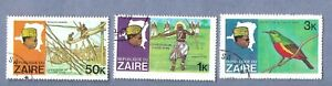 3 POSTAGE STAMPS FROM ZARE