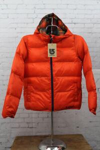 New Burton Girls Medium Clone Insulator Hooded Jacket Clockwork Orange