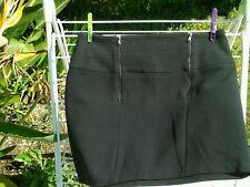 Jupe couture ZARA noire neuve T.38