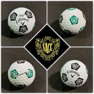 (1) Callaway Chrome Soft TRUVIS Collectible Golf Ball - SAN ANTONIO Country Club