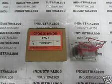 CROUSE HINDS SW21 TYPE EDS SERIES 2 CKT-3 POS SELECTOR NEW IN BOX