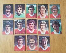 AVA Americana Football Special '79 - Set of 13 Liverpool Stickers - 1979
