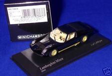 Lamborghini Miura 1966 Black Tan Interia Kyosho Japan