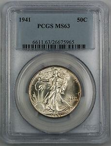 1941 Walking Liberty Silver Half Dollar, *Gem BU* PCGS MS-63 <Better