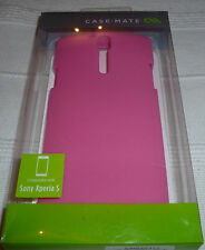 Case-Mate Pink Emerge Smooth Case Skin for Sony Xperia S