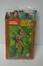 "Mego 8"" Western Heroes RARE German 2-pack set- Davey Crockett and Cochise 1970s"