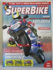 rivista SUPERBIKE Nr. 5/2000 +POSTER YAMAHA YZF-R1 Suzuki GSX -R 750 Ducati 996