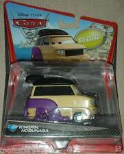 Disney Pixar Cars 2 Kingpin Nobunaga # 5 Deluxe (mega/over-sized) Packaging