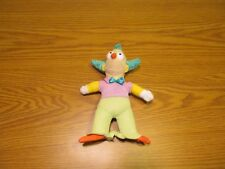 "The Simpsons 8"" Krusty Clown Plush Stuffed Toy Doll Cartoon Toy Factory"