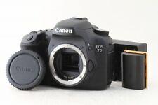 Canon EOS 7D 18.0MP Digital SLR Camera Black Clean Body Free Shipping #EC0111