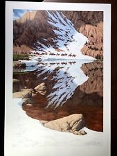 """Bev Doolittle's """"Season of the Eagle"""" original limited edition signed Lithograph"""