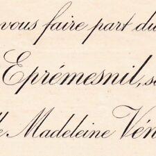 Joseph Olivier Jacques Du Val D'Eprémesnil Thibermont Dieppe 1892 Anne Véneau