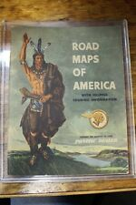 1950 PONTIAC DEALER ROAD MAPS of AMERICA BOOK McDaniel Motors Marion, Ohio 441