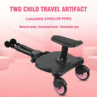 55LBS Wheeled Pushchair Stroller Step Buggy Board Connector Universal Samger Us