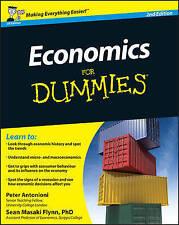 Economics For Dummies by Sean Masaki Flynn, Peter Antonioni (Paperback, 2010)