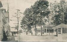 Crystal Beach Ontario Canada * Park Scene 1908 * Quebec Tri-Centennial Stamp