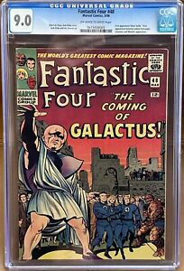 Fantastic Four #48 CGC 9.0 VF/NM Marvel 1st App Of SILVER SURFER and GALACTUS