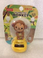 Solar Power Dancing Toy Daiso Monkey