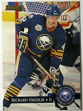 1995-96 Donruss Buffalo Sabres Hockey Card #76 Richard Smehlik