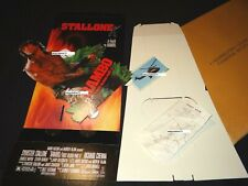 sylvester stallone RAMBO First Blood Part Two tres rare plv cinema neuve 1985