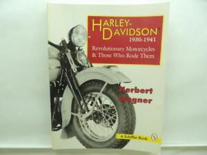 Harley-Davidson 1930-1941 Book By Herbert Wagner B4001
