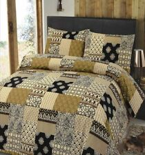 Polyester Contemporary Bedding Patchwork Quilts Covers