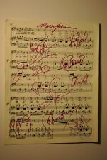 Phantom of the Opera - Broadway Prop SIGNED by Cast