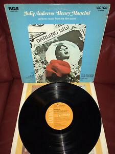 Julie Andrews Henry Mancini Darling Lili OST US LP 1970 RCA LSPX-1000