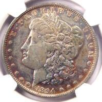 1894 Morgan Silver Dollar $1 - Certified NGC VF Details - Rare Key Date 1894-P!