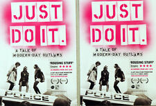 JUST DO IT FILM POSTCARDS X 2 - EMILY JAMES - CLIMATE ACTIVISTS