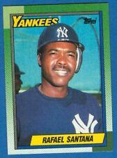 Rafael Santana, 1990 Topps #651, Yankees